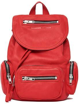 McQ Mini Loveless Smooth-leather Backpack