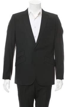 J. Lindeberg Virgin Wool One-Button Blazer