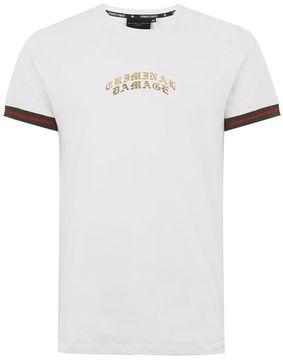 Criminal Damage White 'Cucci' T-Shirt