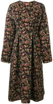 08sircus floral jacquard midi dress