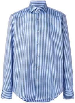 HUGO BOSS micro vichy button shirt