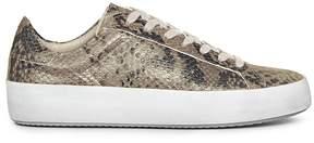 AllSaints Women's Safia Leather Lace Up Sneakers