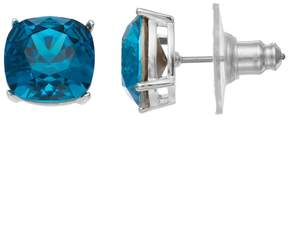 Brilliance+ Brilliance Silver Plated Stud Earrings with Swarovski Crystals