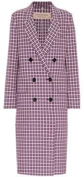 Burberry Check cotton coat