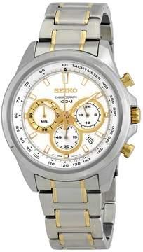 Seiko Chronograph Silver Dial Men's Watch