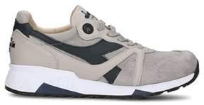 Diadora Heritage Men's Beige Leather Sneakers.