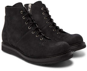 Rick Owens Suede Boots