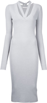 Dion Lee placket tie dress