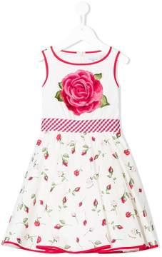 MonnaLisa rose printed dress