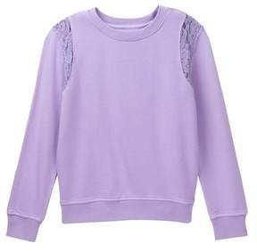 AG Jeans Lace Sweatshirt (Big Girls)