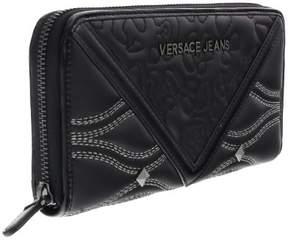Versace EE3VOBPK2 E899 Black Multifunction Wallet