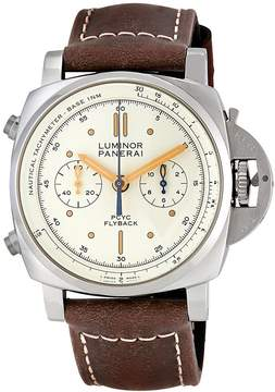 Panerai Luminor 1950 Ivory Automatic Men's Chronograph Watch