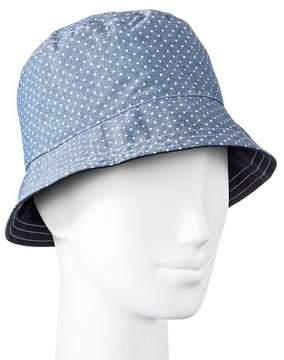 Mossimo Women's Polka Dot Bucket Hat Blue