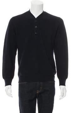 Marc Jacobs Wool Henley Sweater