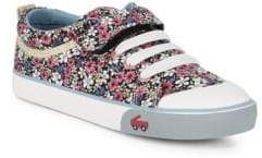 See Kai Run Girl's Kristin Floral Sneakers
