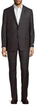 Hickey Freeman Milburn II Regular Fit Wool Suit