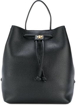 Tory Burch Georgia pebbled backpack - BLACK - STYLE