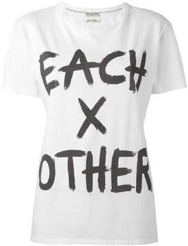 Each X Other logo print T-shirt