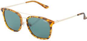 Quay Byron Round Plastic/Metal Sunglasses