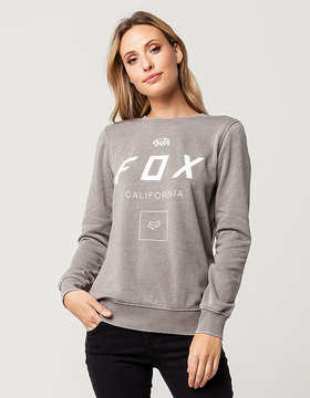 Fox Growled Womens Sweatshirt