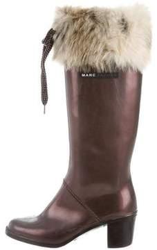 Marc Jacobs Metallic Rain Boots