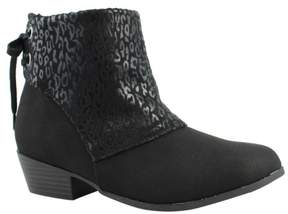 Jessica Simpson New Womens Js329g BlackCheetahMicro Ankle Boots Size 3