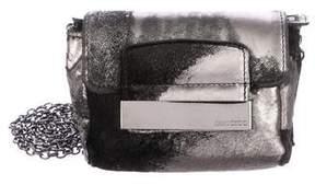 Jimmy Choo Ponyhair & Leather Mini Crossbody Bag