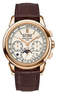 Patek Philippe Grand Complications 5270R-001 18K Rose Gold & Leather 41mm Watch