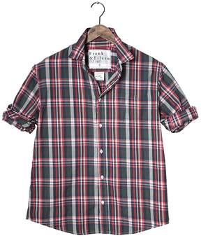 Frank And Eileen Mens Luke Italian Cotton Plaid Shirt