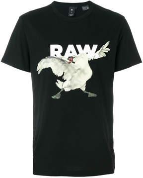 G Star G-Star swan print T-shirt