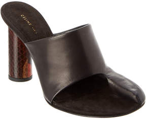Celine Pirate Leather Mule