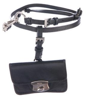 Prada Nappa Easy Pouch Belt