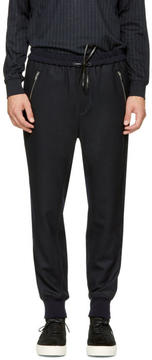 3.1 Phillip Lim Navy Tapered Lounge Pants