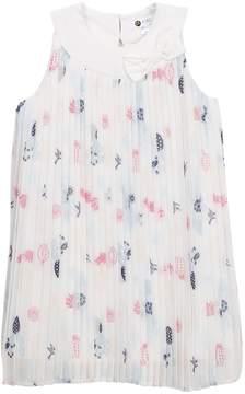 Petit Lem Woven Print Dress (Toddler Girls & Little Girls)