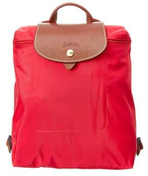 Longchamp Le Pliage Nylon Backpack. - RED - STYLE