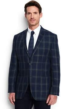 Lands' End Lands'end Men's Tailored Fit Linen Blazer