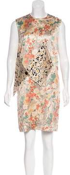 Celine Silk Sleeveless Dress