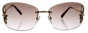 Louis Vuitton Lily Rimless Sunglasses
