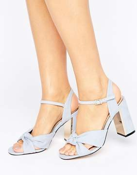 Miss KG Grace Knot Heeled Sandals