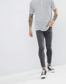ONLY & SONS Skinny Jeans With Raw Hem Detail