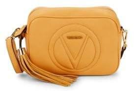 Mario Valentino Mia Leather Crossbody Bag