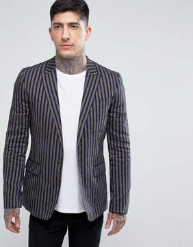 Pretty Green Radbourne Stripe Blazer