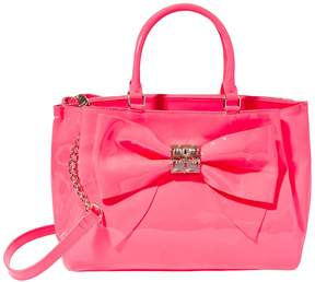 Betsey Johnson NEON AND ON ABOUT IT BOW BAG