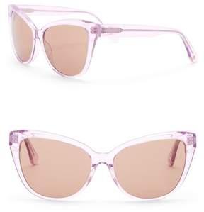 Joe's Jeans Modified Cat Eye 59mm Sunglasses