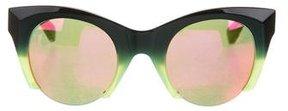 Westward Leaning Westward\\Leaning Ombré Reflective Sunglasses