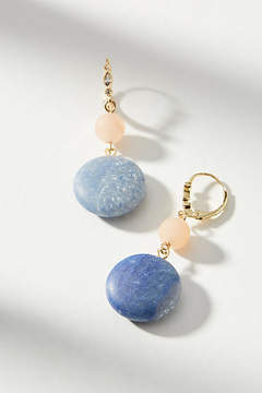 Anthropologie Speckled Stone Drop Earrings