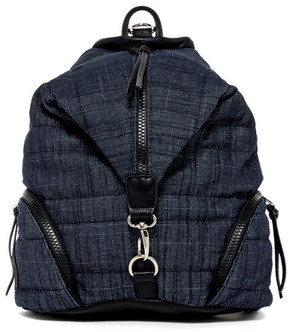 SR SQUARED BY SONDRA ROBERTS Quilted Backpack