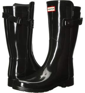 Hunter Original Refined Back Strap Short Women's Rain Boots
