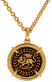Elizabeth Taylor The Coin Pendant