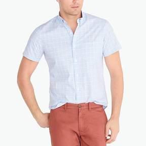 J.Crew Mercantile Slim short-sleeve flex washed shirt